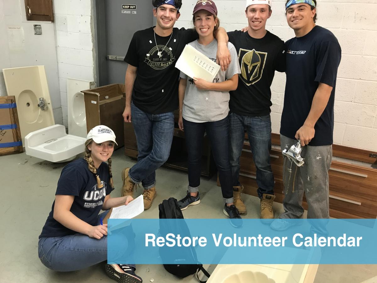 ReStore Volunteer Opportunities